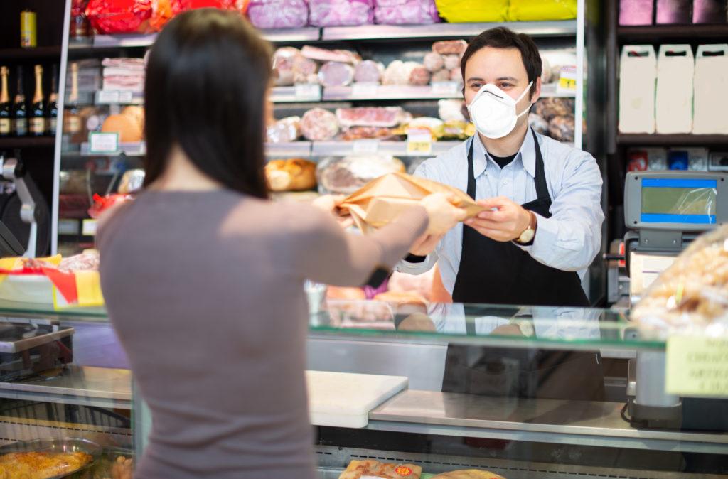 Maskenpflicht im Einzelhandel