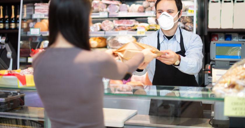 Maskenpflicht ist nicht für Umsatzverlust des Einzelhandels verantwortlich