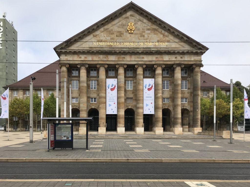 Das Kongress-Palais in Kassel – Veranstaltungsort des plentymarkets Online-Händler-Kongresses 2020